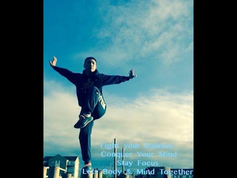 Kungfu stance - Jin Ji Du Li - Golden Rooster Stance 金鸡独立 - Master Yan Xin.