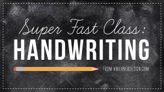 SUPER FAST CLASS - Handwriting
