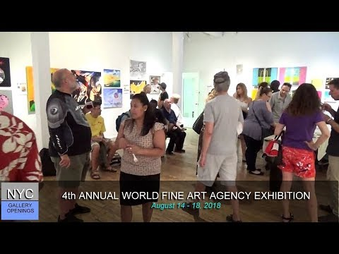 WORLD FINE ART AGENCY / 4TH ANNUAL EXHIBITION AT NOHO