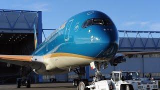 Aircraft Emergency Evacuation Airbus A350 XWB