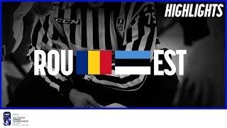 Romania vs. Estonia | Highlights | 2019 IIHF Ice Hockey World Championship Division I Group B