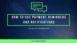 How to set up auto-notifications and reminders at Splynx