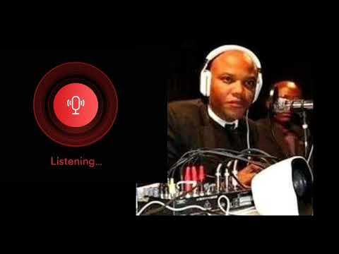 Nnamdi Kanu's full speech from Jerusalem on  Radio Biafra live broadcast