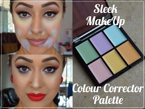 REVIEW & DEMO: NEW! Sleek MakeUP Colour Corrector Palette