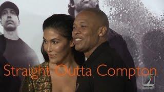 The world premiere of STRAIGHT OUTTA COMPTON