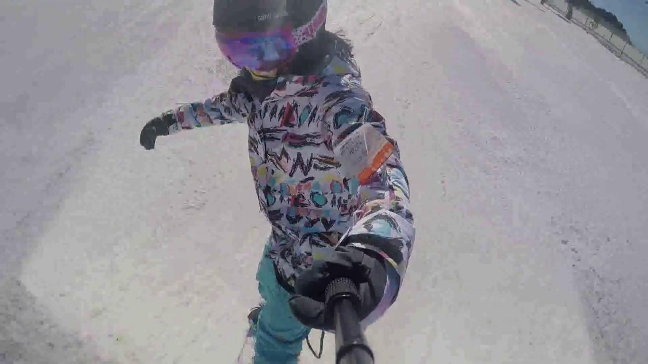 5063cf6303 Gsou Snow Brand Women s Camo Ski Jacket   Blue Pants Sets - YouTube