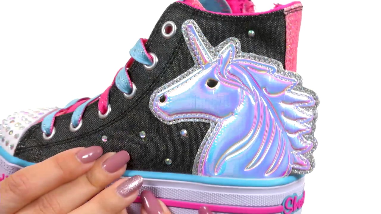c2b31f8a40d9 SKECHERS KIDS Twinkle Toes - Shuffles 10791L Lights (Little Kid Big Kid)  SKU 8875144