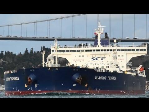 Shipspotting Istanbul Strait