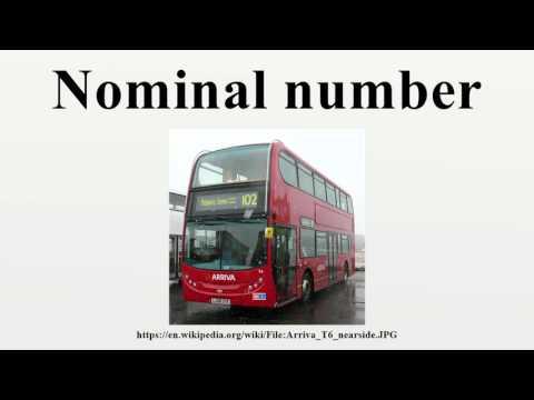 Nominal number