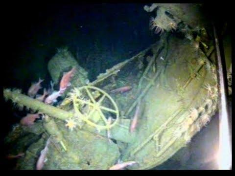 Submarine HMAS AE1 located after 103 years
