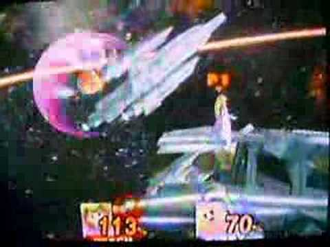 Peach (Gay!) vs. Kirby (Lucky) SSBB Smash Bros. Brawl