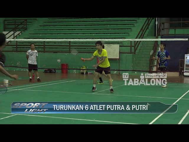 Sport Light - Latihan Bulu Tangkis POPDA 2020