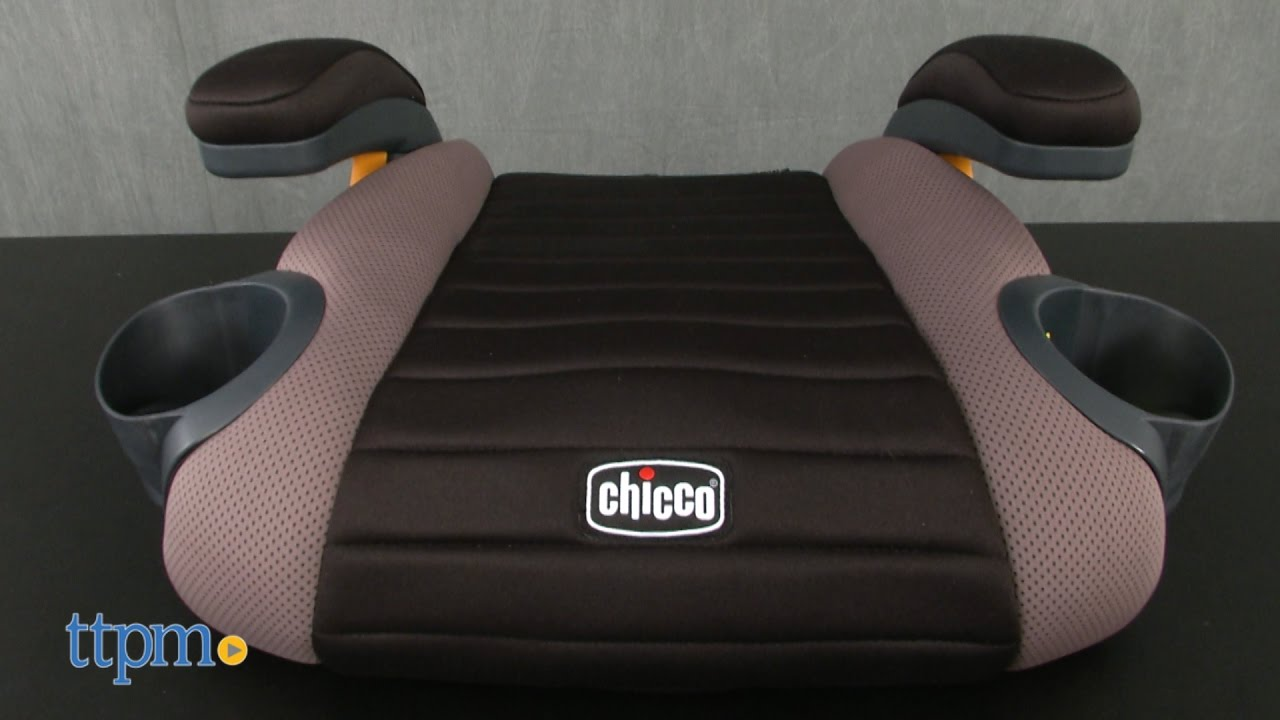 Go Fit Belt Positioning Backless Booster Seat From Chicco