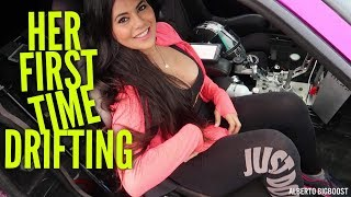homepage tile video photo for EPIC WILD DRIFTING WITH THE BEAUTIFUL SHARON GOMEZ!