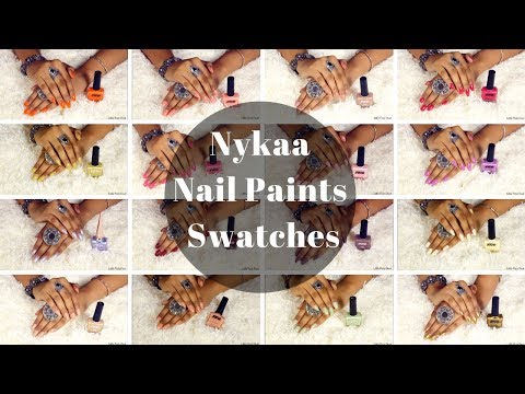 NYKAA NAIL PAINTS || COLLECTION & SWATCHES || Little Pixie Dust || Shalini Banik