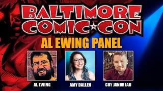 Al Ewing Panel at Baltimore Comic Con