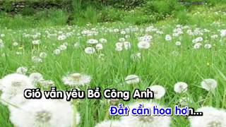 BO CONG ANH [Karaoke full beat] - Lil Shady
