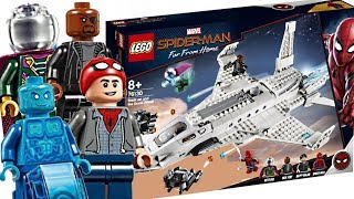 LEGO Spider-Man Far From Home sets! Best Marvel set of 2019!