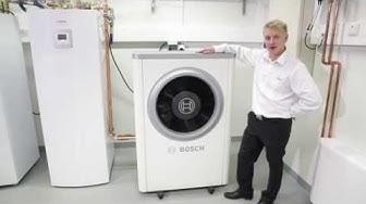 Bosch ilma-vesilämpöpumpun esittely