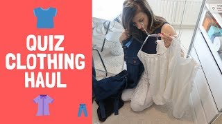 QUIZ CLOTHING HAUL, TRY ON AND ASOS