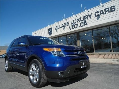 2013 ford explorer limited in review village luxury cars toronto youtube. Black Bedroom Furniture Sets. Home Design Ideas