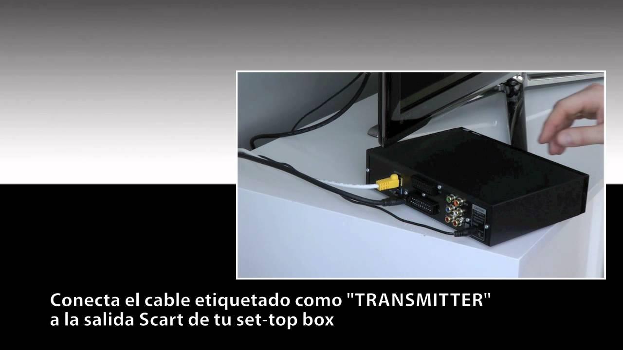 spanish one for all sv 1730 wireless tv sender youtube. Black Bedroom Furniture Sets. Home Design Ideas