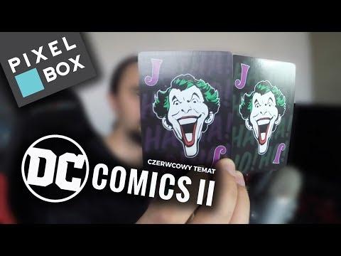 � JOKER POKER ♥�♣� || Pixel-Box - DC Comics II (Czerwiec 2018) [UNBOXING]