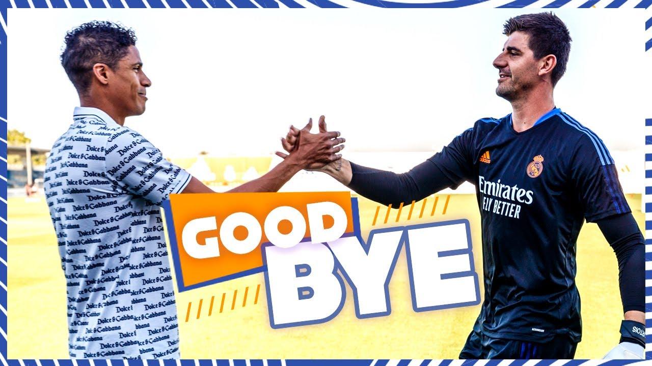 VARANE says GOODBYE to Real Madrid teammates