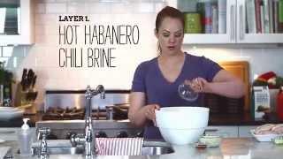Dry Chicken be Gone!- Nashville Hot Brine & Bake Chickn Kit
