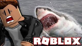 EATEN VON EINEM SHARK?! (Roblox Shark Attack)