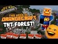Annoying Orange Let's Play Minecraft - TNT FOREST!