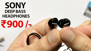 Sony MDR-EX150AP In-Ear Headphones with Mic Unboxing and Review