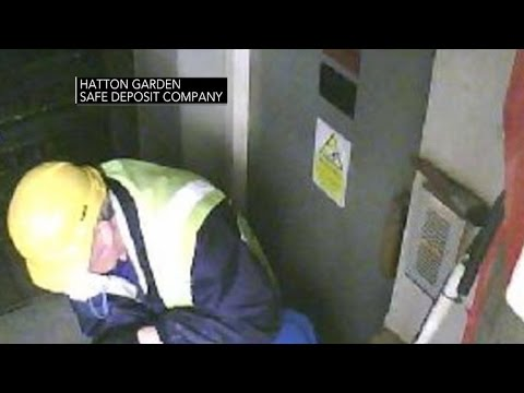 New security video shows huge London jewelry heist in progress