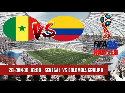 FIFA 95 HACKED – Senegal vs Colombia | Group H | 2018 FIFA World Cup Simulation