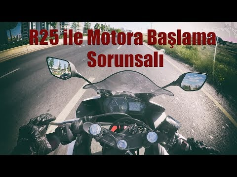 Yamaha R25 ile Motosiklete Başlanır mı? - Gaz Tepkileri