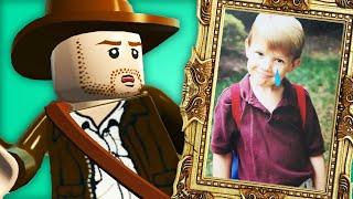 I faced my childhood trauma through LEGO Indiana Jones