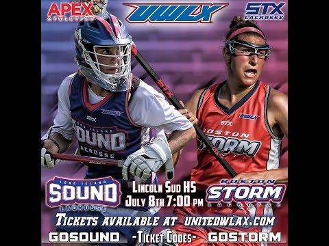UWLX: Boston Storm vs Long Island Sound (July 8, 2016)