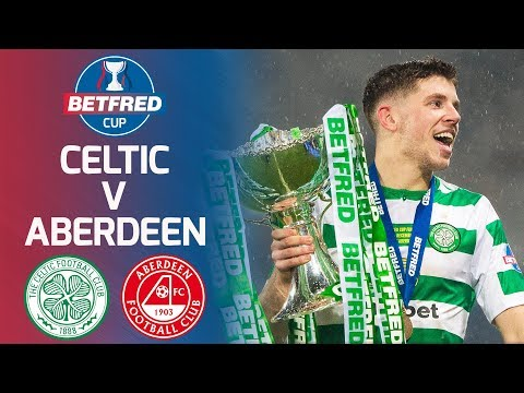 Celtic 1-0 Aberdeen | Ryan Christie Fires Celtic to Cup Victory | Betfred Cup