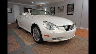 This 2005 Lexus SC 430 is a Beautiful Convertible and Appreciating Collectible