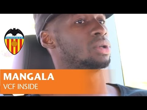 VALENCIA CF| MANGALA'S FIRST DAY AT VALENCIA CF