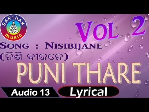 Nisibijane (ନିଶି ବୀଜନେ) | Old Odia Movie Songs Collection | Puni Thare Vol.2 | Lyrical