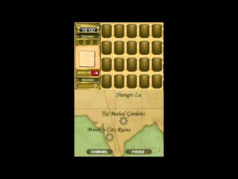 Jewel Quest Mysteries 2 Trail of the Midnight Heart - Gameplay - Nintendo DS