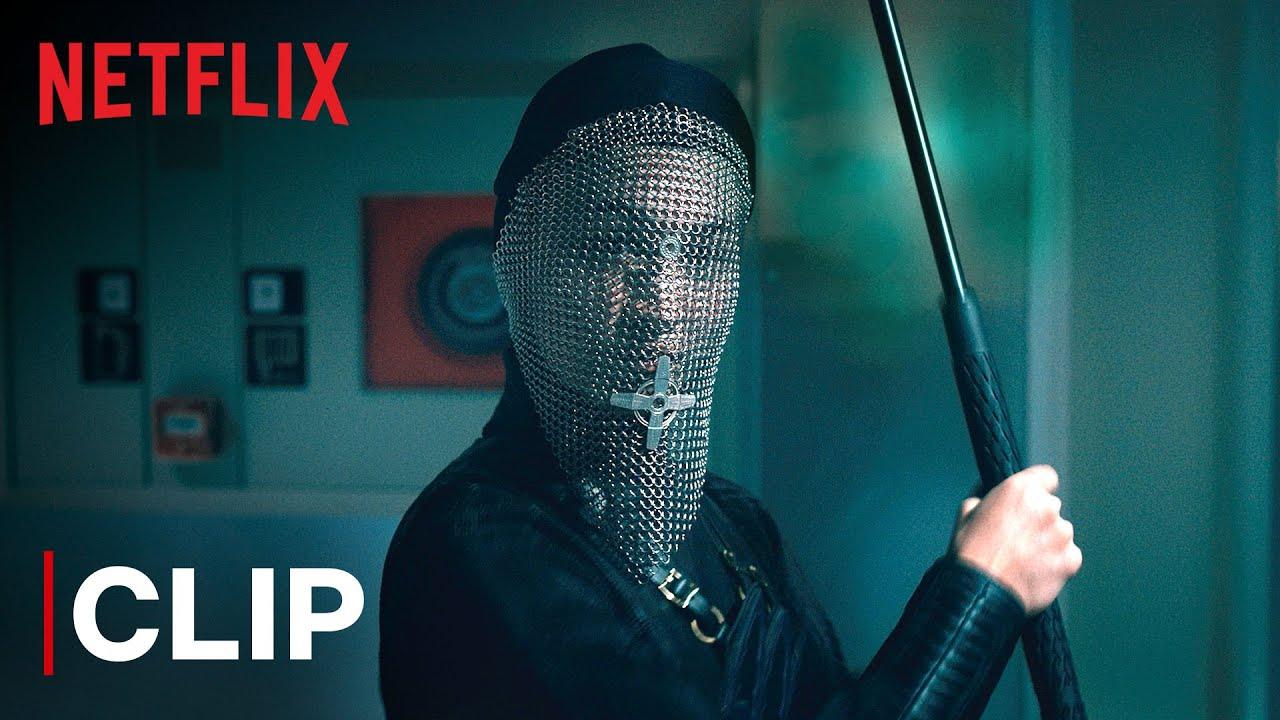 Warrior Nun Epic Hallway Fight Scene ft. Beatrice | Netflix India