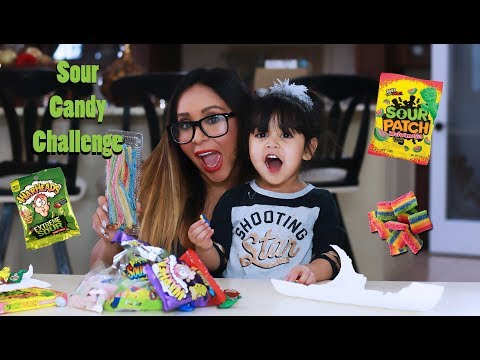 Snooki and Sissy's Sour Candy Challenge
