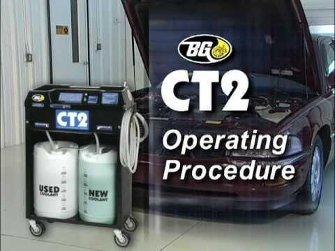 BG CT2 Coolant Transfusion Machine Training Video