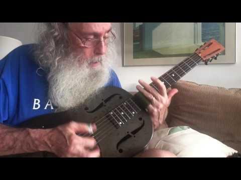 Open G Blues Shuffle Slide Guitar Blues Lesson