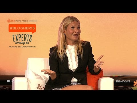 #BlogHer15: Gwyneth Paltrow on Co-Parenting With Ex-Husband Chris Martin