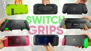 Best Nintendo Switch Grip Case Accessories!   Skull & Co, BigBlue, Mumba, Satisfye, Aixmeet, JE Tech