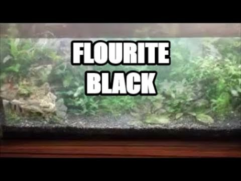 Seachem Flourite Black Aquasoil - For Tropical Planted Aquarium Substrates.