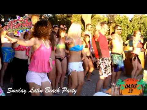 Oasis 38 Beach Bar Sunday Latin Party By El Caribe Dance Team